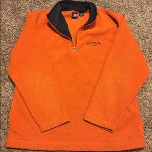 Gap Athletic 1/3 Zip Up Pullover Fleece Pockets